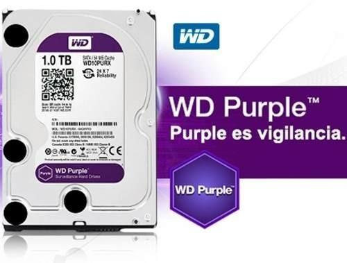 Disco Duro Interno 1tb Wd Purpura Para Dvr Icloud oferta