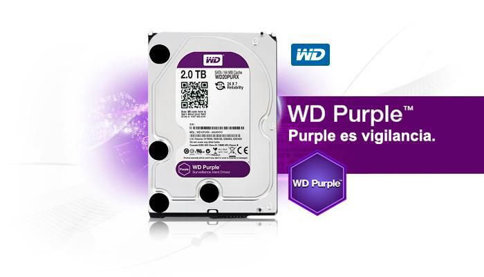 Disco Duro Western Digital 2tb Purpura 3.