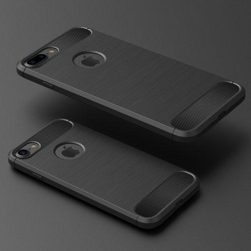 5b81b6e208c Iphone case fibra carbono 8 7 plus x protector funda cover