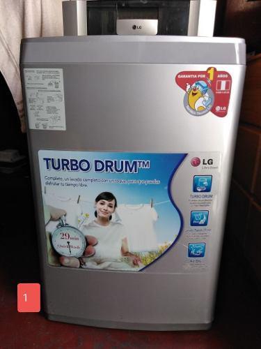 Lavadora Automatica Lg Turbo 7.5 Kg Excelente