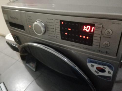 Lavadora Secadora Deawoo 11.5 Kg.