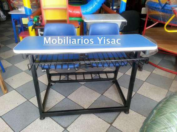 Mobiliario escolar somos fabricantes en Lima