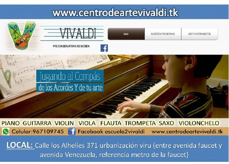 Piano Guitarra Violin Viola Trompeta