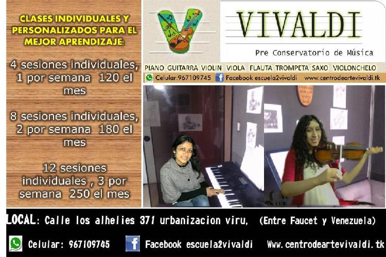 Pre conservatorio de música violin piano guitarra viola