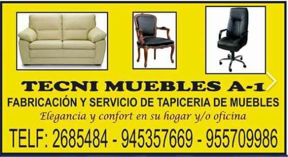 Tapicería y reparación de muebles en lima
