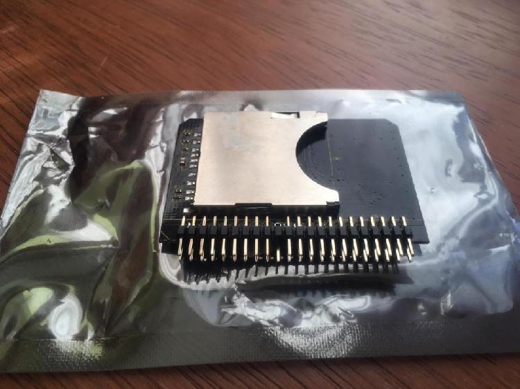 Vendo adaptador SD a IDE Tipo disco duro
