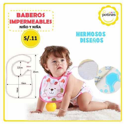 Baberos alta calidad y hermosos diseños para bebés y