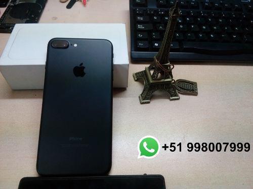 Carcasa iphone 7 plus 100% original (10/10) - san borja