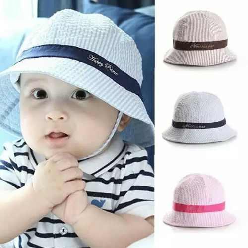 3b72e23060115 Sombrero para bebé de verano sol playa bebé