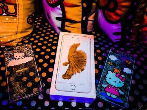 Hello kitty* iphone 6s plus case carcasa funda accesorio