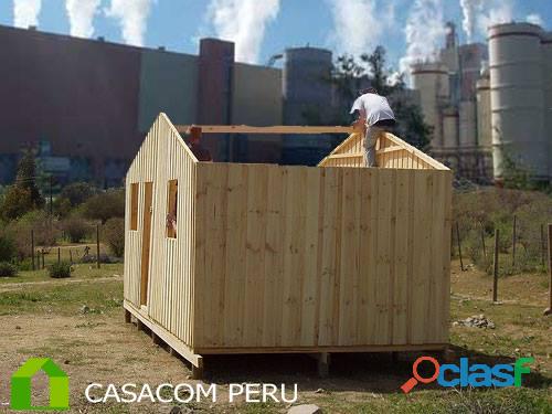 Habitaciones de madera para azotea en surco peru