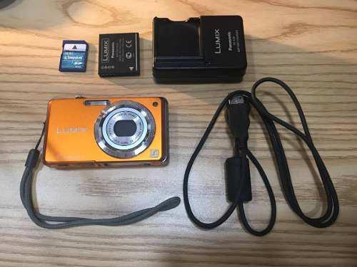 Panasonic Lumix dmc-fx60 Tarjeta de memoria SanDisk SD 8gb F
