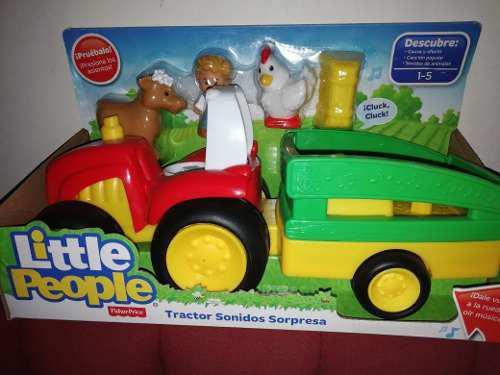 Fisher price little people tractor de sonidos y sorpresas.