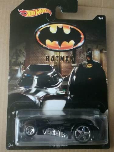 Hot wheels batman, en perfecto estado 2/6 - precio s/20.00