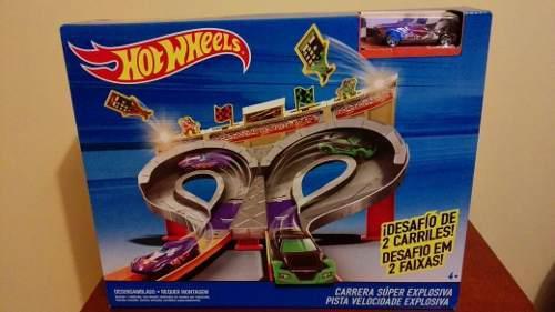 Hot wheels carrera super explosiva