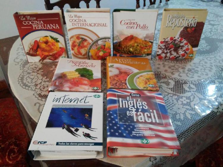Libros / Revistas de distintos Temas Remato