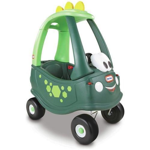 Little tikes - carro cozy coupe dino dinosaurio