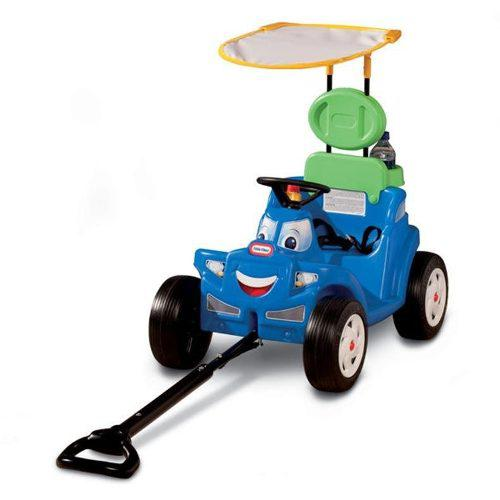 Little tikes deluxe 2-in-1 cozy roadster carrito