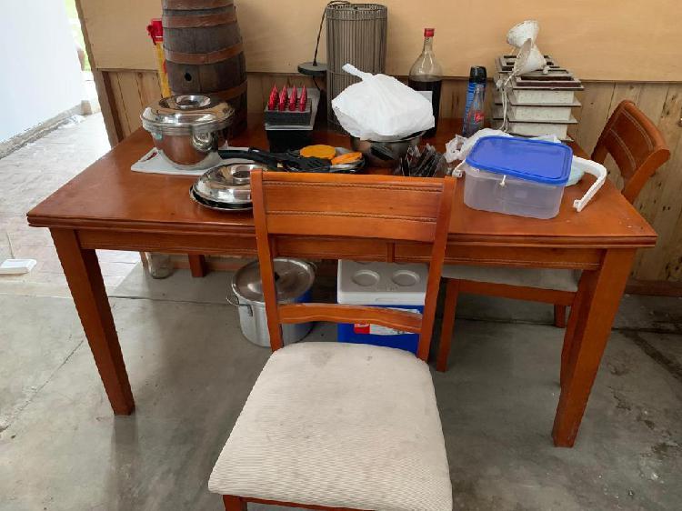 Remat por viaje juego de mesas sillas cocina congelador en Ica ...