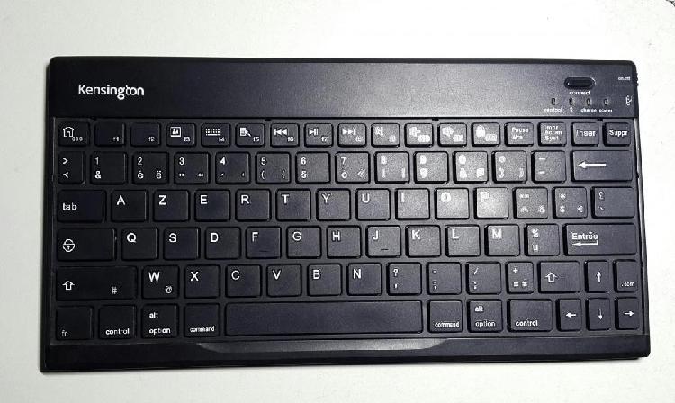 Teclado bluetooth kensington m01145 de tablet tipo azerty