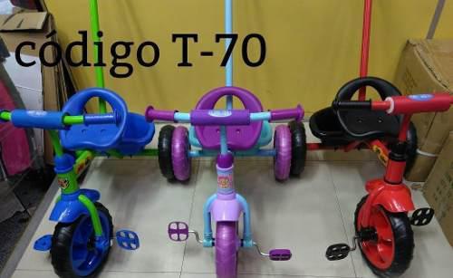 Triciclo para niño y niña