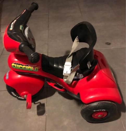 Triciclo peg-pérego modelo cucciolo semi nuevo todo ok
