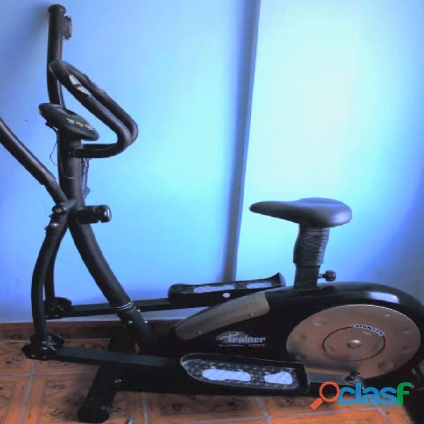 Vendo bicicleta elíptica trainer 6007  monark