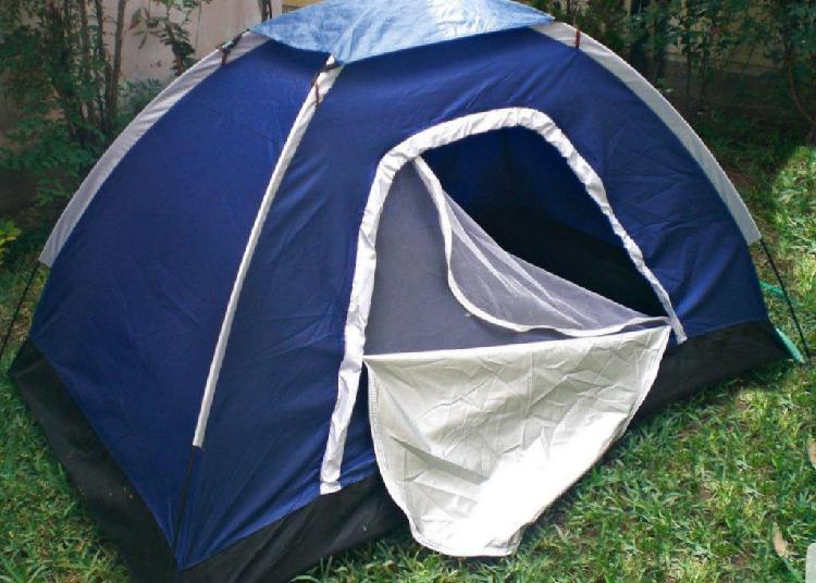 Carpa campamento camping 2 y 4 personas