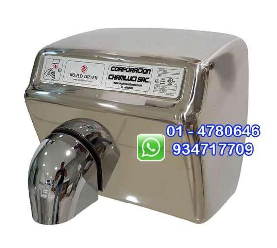 Secador de manos automático acero inoxidable 2300 w en lima