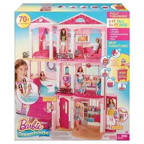 Casa barbie 2018 de 3 pisos dreamhouse oferta tienda y envio