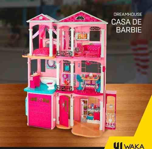 Casa barbie 3 pisos 2018 dreamhouse nuevo original tienda