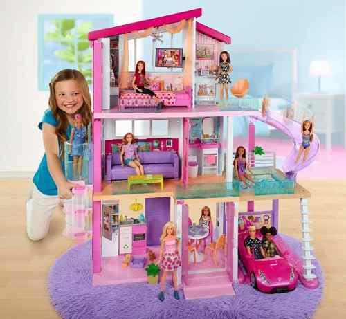 Casa ensueños de la barbie dreamhouse 2018 3 pisos original