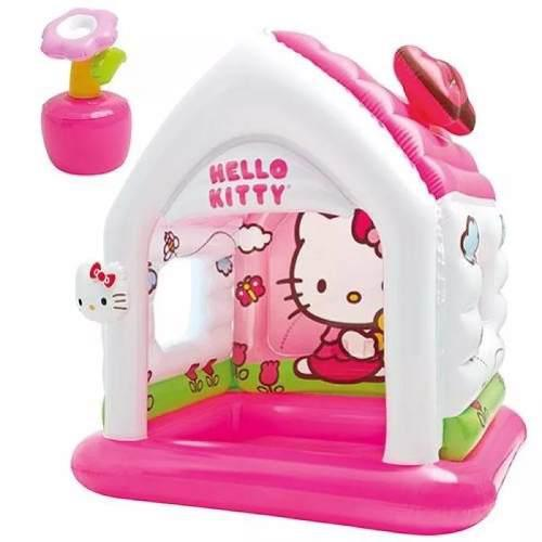 Casita inblable de hello kitty marca intex piscina zevallos!