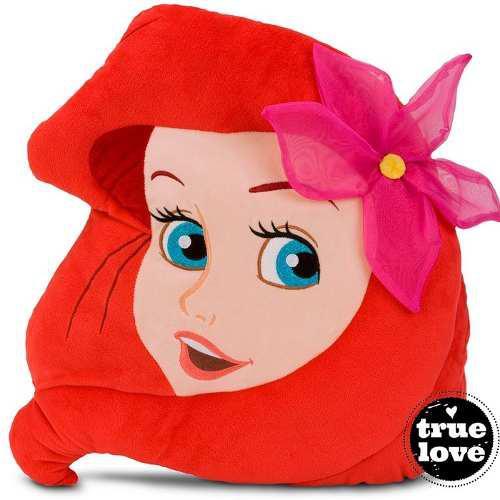 Cojín almohada princesa ariel- la sirenita