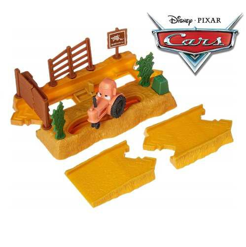 Disney / pixar cars tractor tippin 'fields lanzacohetes