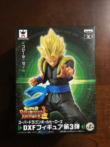 Figura gogeta super saiyan - dragon ball heroes dxf