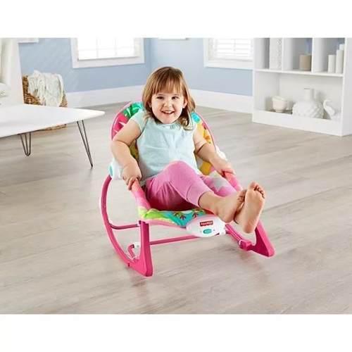 c4c415de0 Fisher price - silla mecedora infantil crece conmigo rosada en Lima ...