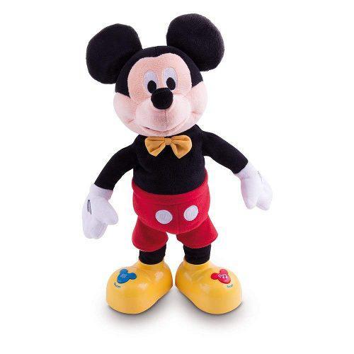 Mickey cuenta cuentos mueve la boca y brazos peluche juguete