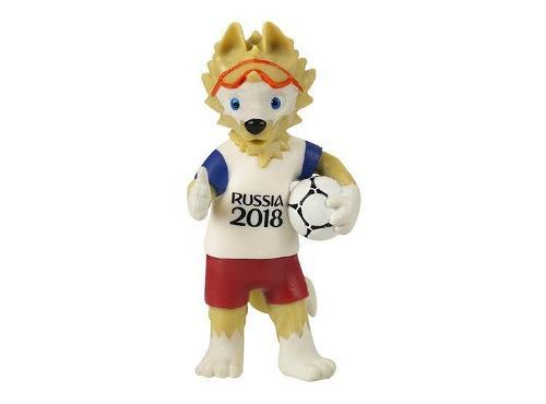 Muñeco zabivaka mascota oficial del mundial rusia 2018