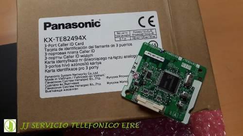 Panasonic perú - tarjeta kx-tes82494x para central
