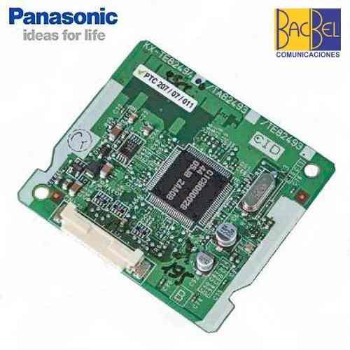 Panasonic perú -tarjeta identificador llamada para