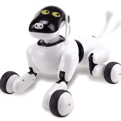 Perro robot inteligente e-puppy mascota electrónica -