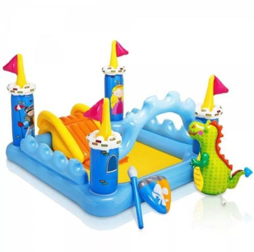 Piscina resbaladiza inflable juegos niños