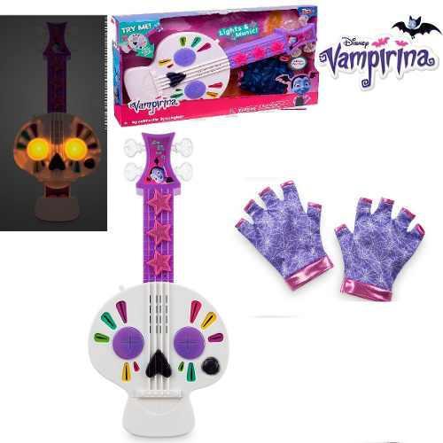 Vampirina guitarra guantes con luces sonido marca disney