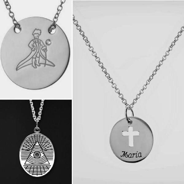 d00bc9d31951 Collares personalizadas en plata 950 comprar joyas a pedido