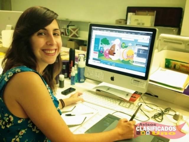 Señorita conocimientos en computación, office y diseño