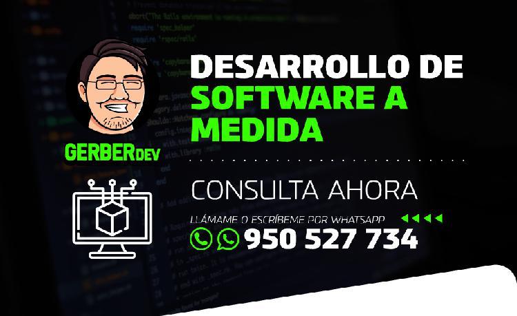 Servicios de programación y desarrollo de sistemas web en