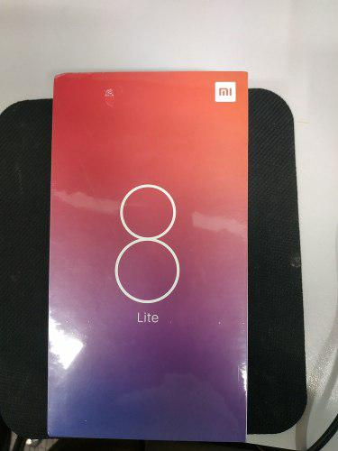 Xiaomi Mi 8 Lite 4 Ram 64 Rom, Negro Version Global