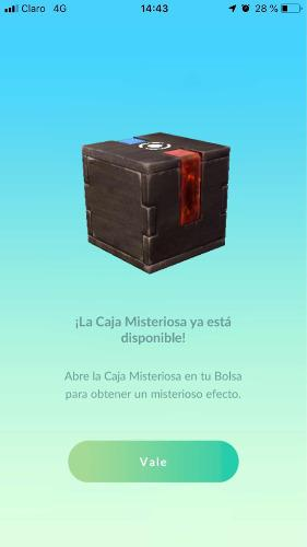 Caja misteriosa meltan de nintendo switch a pokemon go.