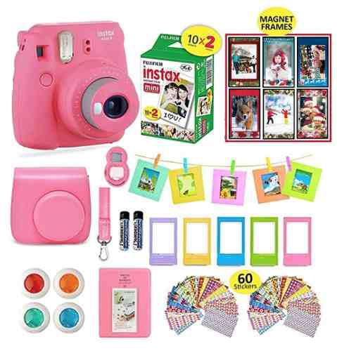 Camara fujifilm instax mini 9 instant camera